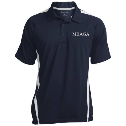 MBAGA Men's 3-Button Polo Polo Shirts- Warrior Design Co. | Quality Affordable Branding Solutions