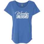 Worship Unleashed Dolman Sleeve T-Shirts- Warrior Design Co. | Quality Affordable Branding Solutions