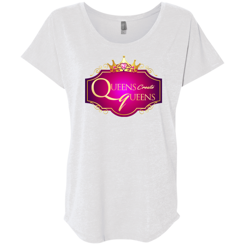 Queens create Queens Dolman Sleeve - Warrior Design Co. | Quality Affordable Branding Solutions