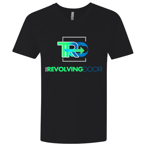 The Revolving Door Fitted V-Neck T-Shirts- Warrior Design Co. | Quality Affordable Branding Solutions