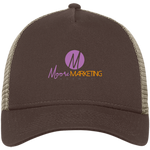 Moore Marketing Snapback Cap Hats- Warrior Design Co. | Quality Affordable Branding Solutions