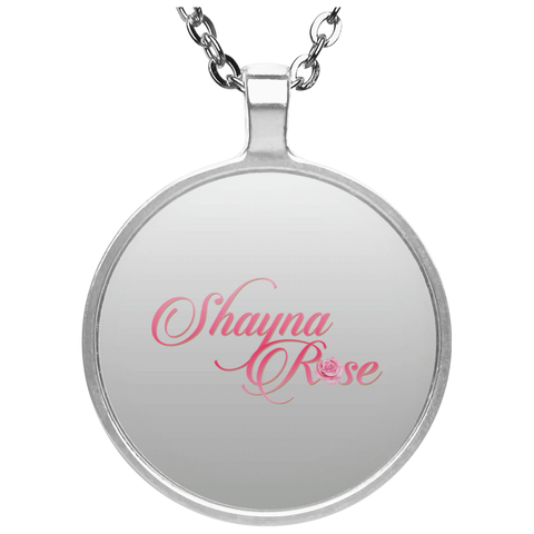 Shayna Rose Circle Necklace Jewelry- Warrior Design Co. | Quality Affordable Branding Solutions