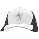 Angels of Las Vegas Colorblock Hat Hats- Warrior Design Co. | Quality Affordable Branding Solutions