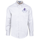 Innovation Life Men's LS Dress Shirt Dress Shirts- Warrior Design Co. | Quality Affordable Branding Solutions