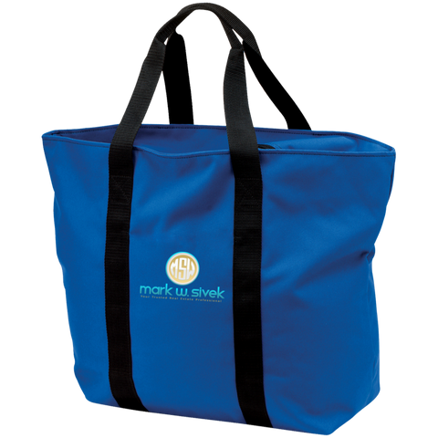 Mark Sivek All Purpose Tote Bag Bags- Warrior Design Co. | Quality Affordable Branding Solutions