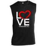 Love Conquers All  Performance T-Shirt - Warrior Design Co. | Quality Affordable Branding Solutions