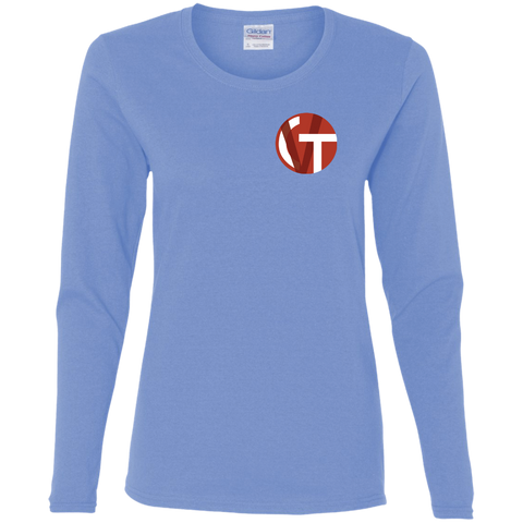LVCVT Icon LS T-Shirt T-Shirts- Warrior Design Co. | Quality Affordable Branding Solutions