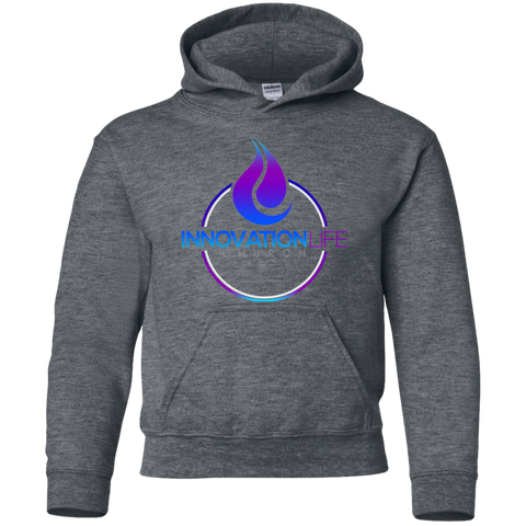 Innovation Life Youth Pullover Hoodie Sweatshirts- Warrior Design Co. | Quality Affordable Branding Solutions