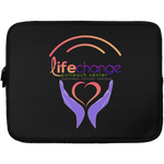 Life Change Outreach Laptop Sleeve - 13 inch Laptop Sleeves- Warrior Design Co. | Quality Affordable Branding Solutions