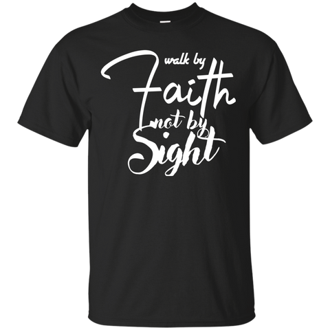 Walk By Faith Men's T-Shirt - Warrior Design Co. | Quality Affordable Branding Solutions