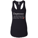 Depressor Women's Tank T-Shirts- Warrior Design Co. | Quality Affordable Branding Solutions