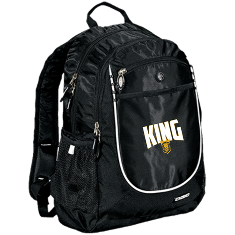 King Rugged Bookbag Bags- Warrior Design Co. | Quality Affordable Branding Solutions