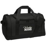 Worship Unleashed Travel Sports Duffel Bags- Warrior Design Co. | Quality Affordable Branding Solutions
