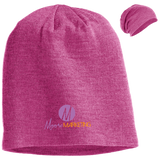 Moore Marketing Slouch Beanie Hats- Warrior Design Co. | Quality Affordable Branding Solutions