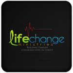 Life Change  Coaster Drinkware- Warrior Design Co. | Quality Affordable Branding Solutions