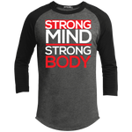 Strong Mind Strong Body Men's Sporty T-Shirt T-Shirts- Warrior Design Co. | Quality Affordable Branding Solutions