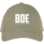 Best Dad Ever Mesh Back Cap Hats- Warrior Design Co. | Quality Affordable Branding Solutions