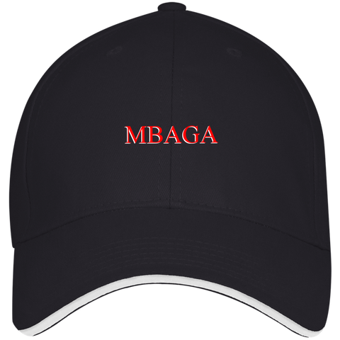 MBAGA Visor Cap Hats- Warrior Design Co. | Quality Affordable Branding Solutions