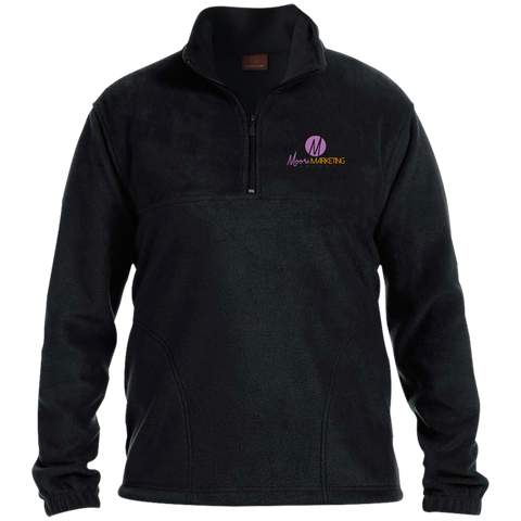 Moore Marketing Fleece Pullover Jackets- Warrior Design Co. | Quality Affordable Branding Solutions