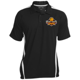Vegas Lights Colorblock 3-Button Polo Polo Shirts- Warrior Design Co. | Quality Affordable Branding Solutions
