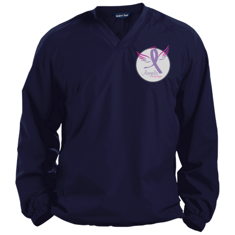 Angels of Las Vegas Pullover V-Neck Windshirt Jackets- Warrior Design Co. | Quality Affordable Branding Solutions