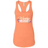 Worship Unleashed Women's Tank T-Shirts- Warrior Design Co. | Quality Affordable Branding Solutions