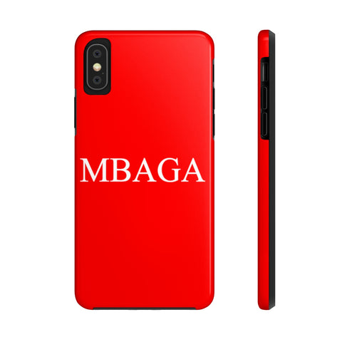 MBAGA Tough Phone Cases Phone Case- Warrior Design Co. | Quality Affordable Branding Solutions