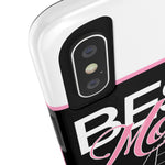 Best Mom Ever Tough Phone Cases Phone Case- Warrior Design Co. | Quality Affordable Branding Solutions