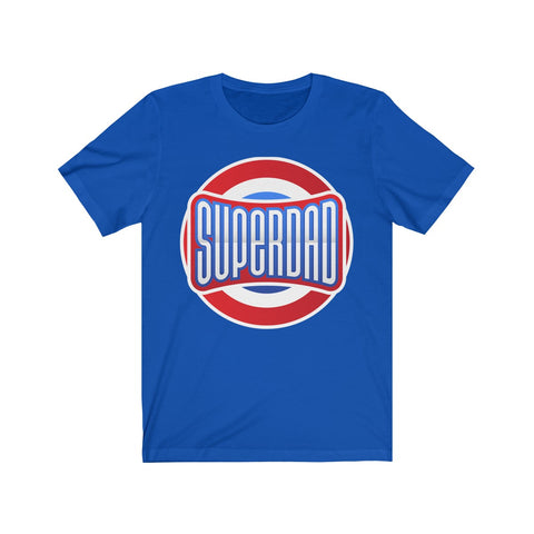 Super Dad Short Sleeve Tee T-Shirt- Warrior Design Co. | Quality Affordable Branding Solutions
