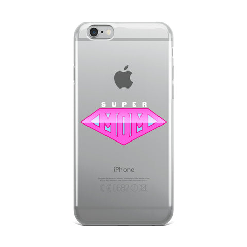 Super Mom iPhone Case