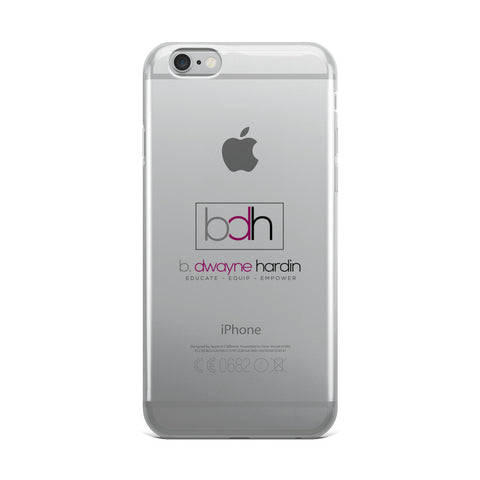 BDH iPhone Case - Warrior Design Co. | Quality Affordable Branding Solutions