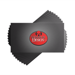 2.5x3 Business Card Printing Printing- Warrior Design Co. | Quality Affordable Branding Solutions