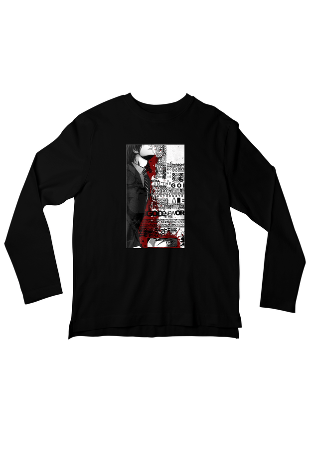 God Of Death - Death Note Full Sleeves T-shirt - Whoosh