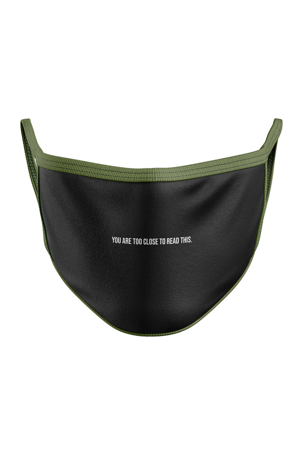 Too Close - Whoosh® Face Mask - Whoosh