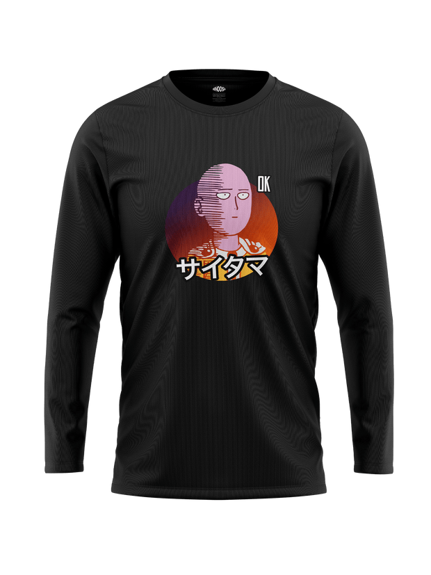 Saitama Ok - One Punch Man Full Sleeves T-shirt