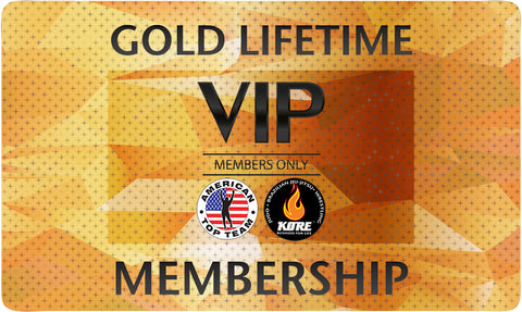 Gold Lifetime Membership for American Top Team Connecticut Only