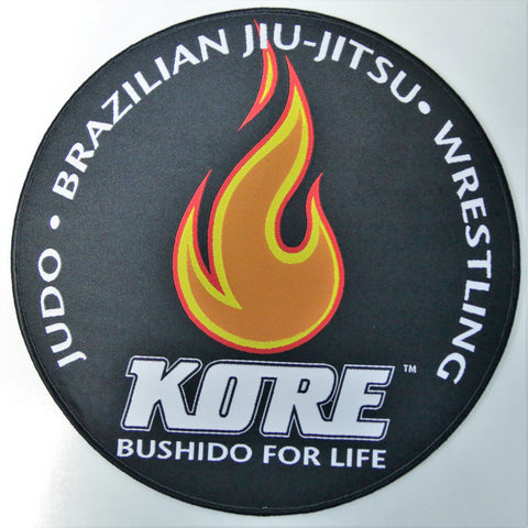 Woven Embroidered Kore BJJ Patch