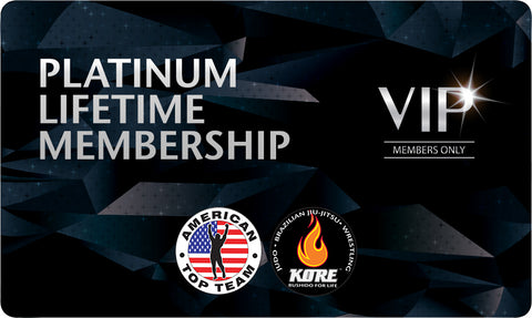 Platinum Lifetime Membership for American Top Team Connecticut Only