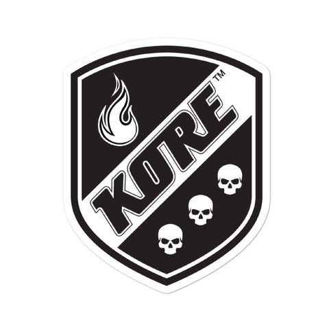 Kore Shield Sticker - Bubble-free stickers