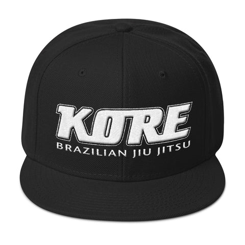 Snapback Kore 3D Half Puff Embroidery Hat
