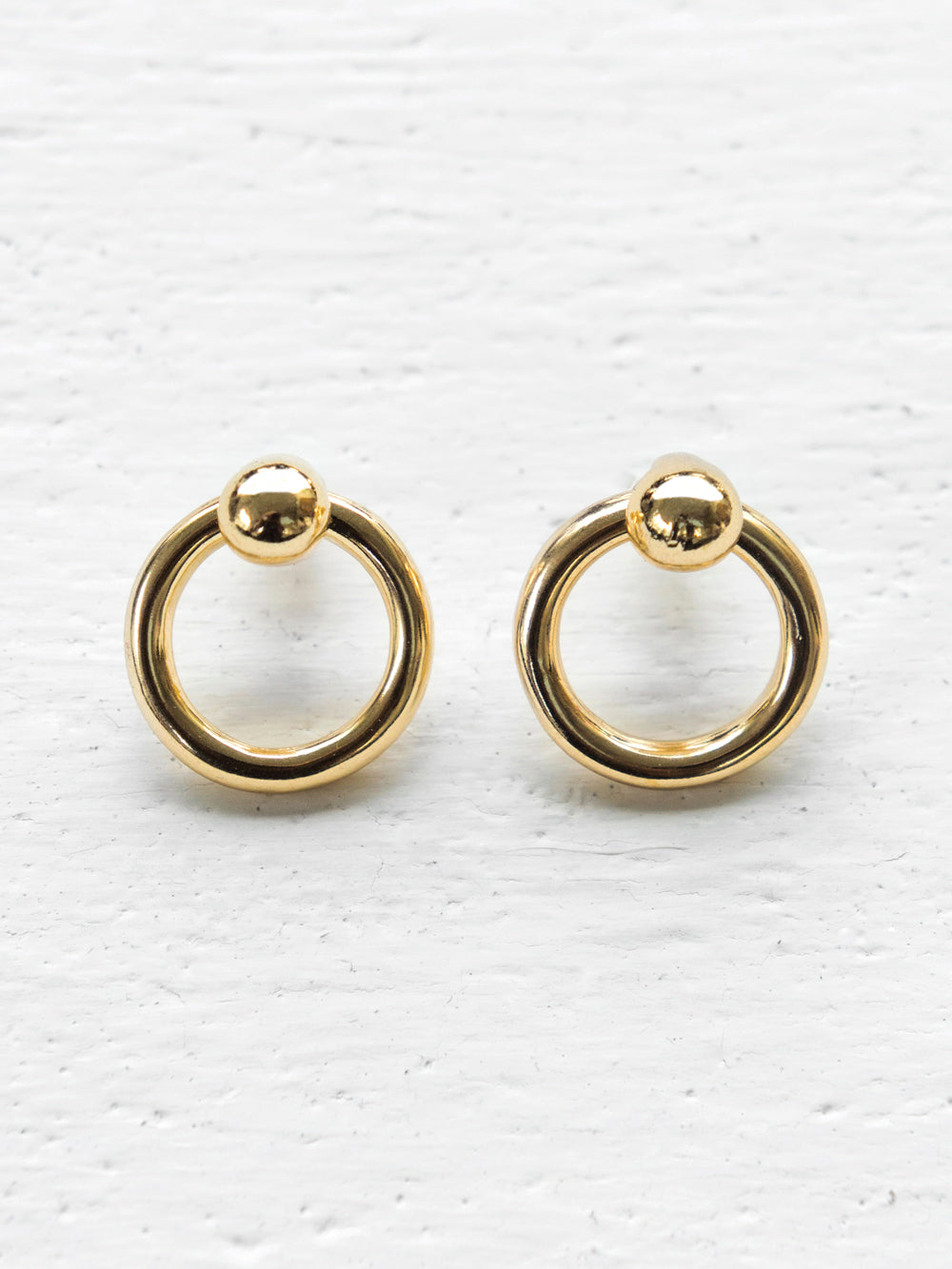 Common Muse Gold Odette Earrings