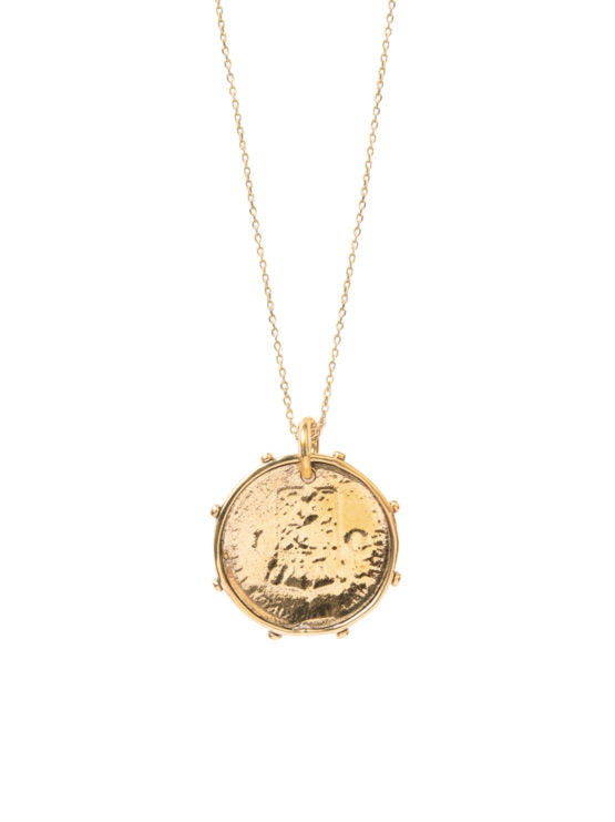 Dutch Coin Necklace by Tilly Sveaas