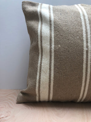 100% Wool Square Cushion