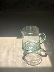 Low Glass Carafe