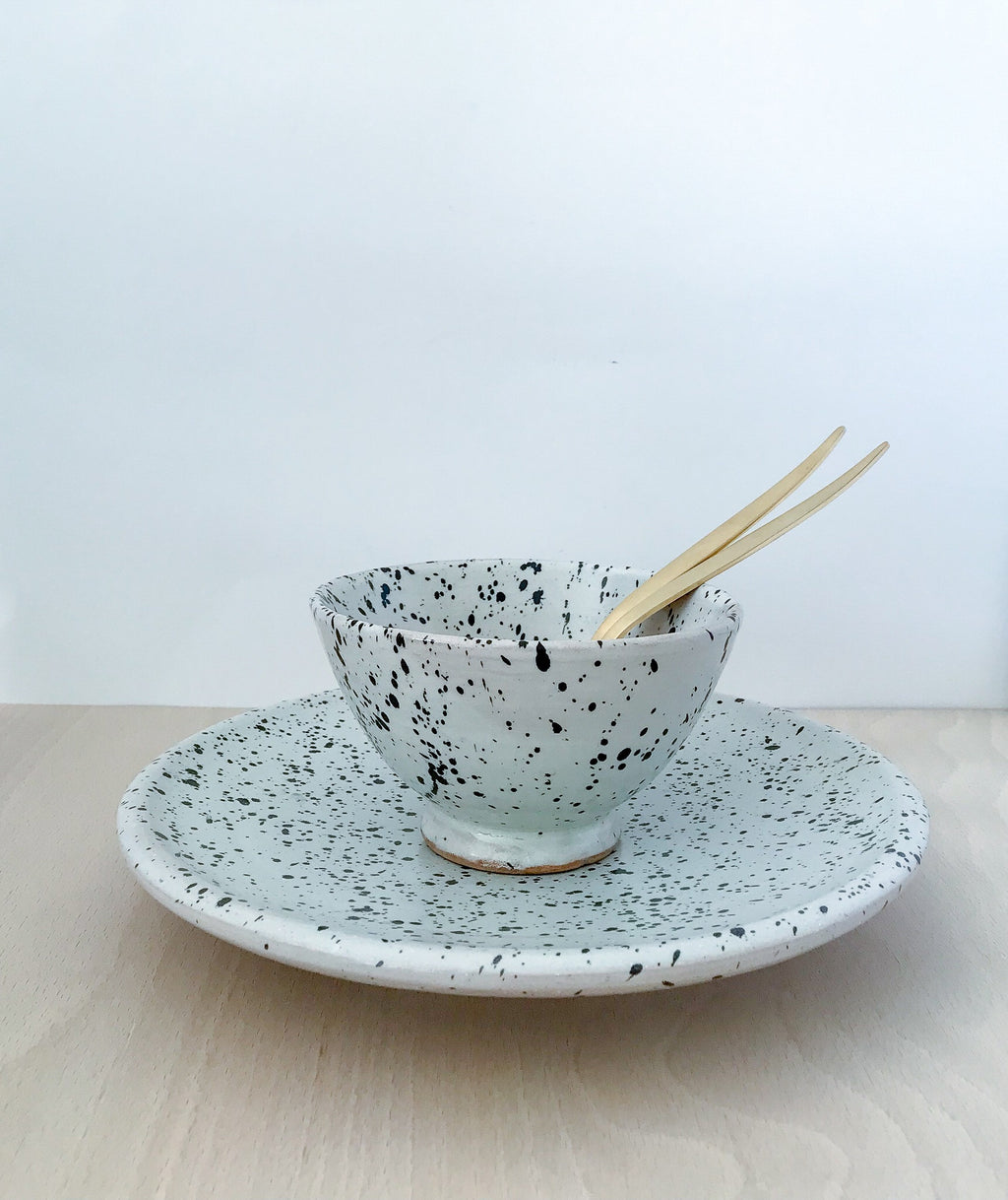 Ceramic Speckled Bowl