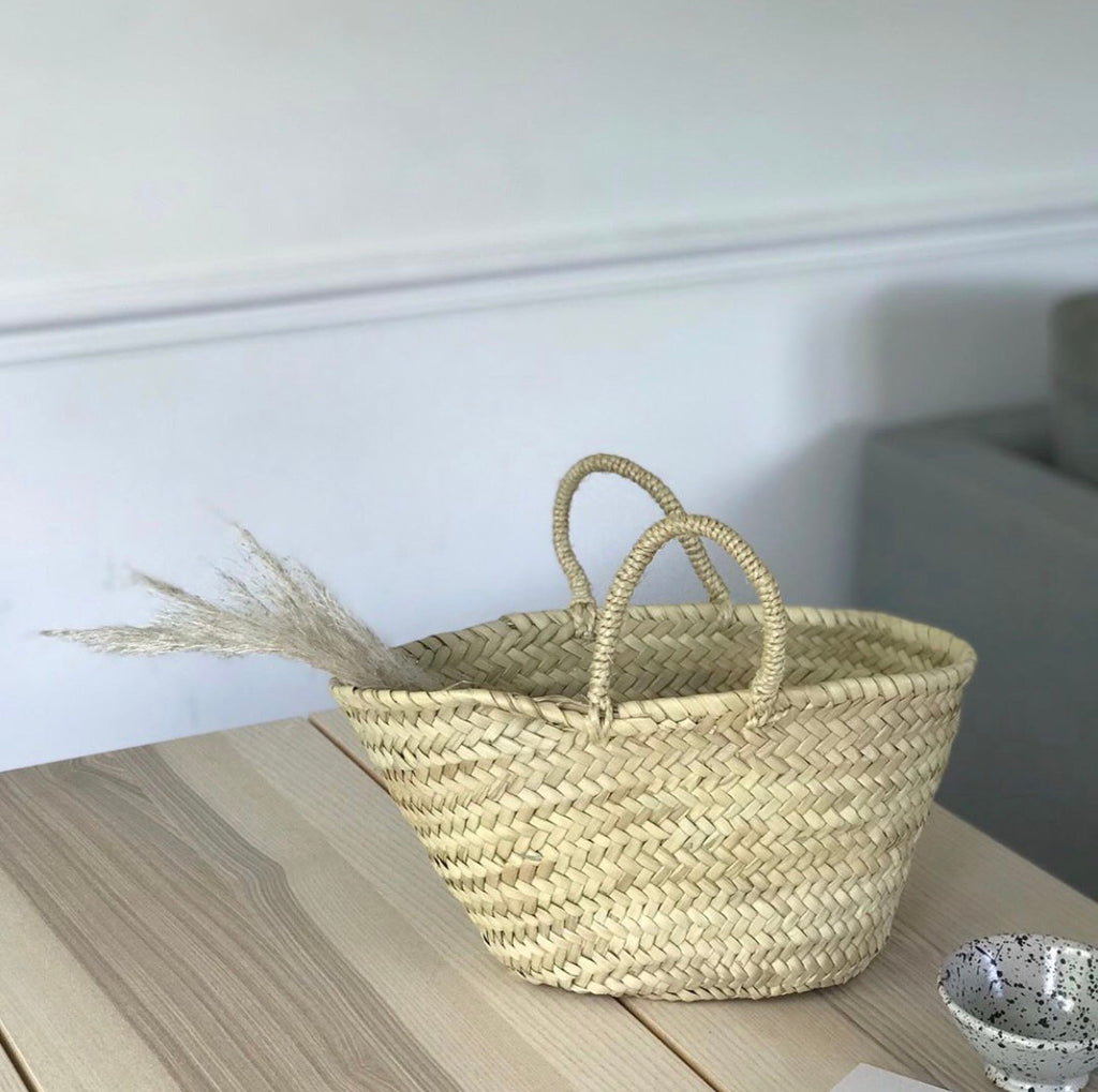 Mini Basket Bag