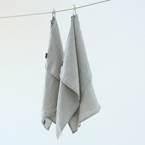 100% Linen Tea Towel in Natural