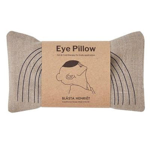 Blasta Henriet Natural Linen Eye Pillow With Face