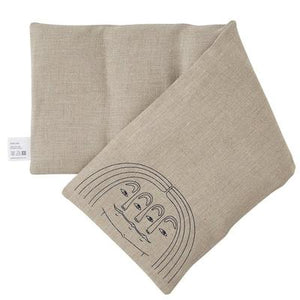 Blasta Henriet Linen Wheat Bag With Face