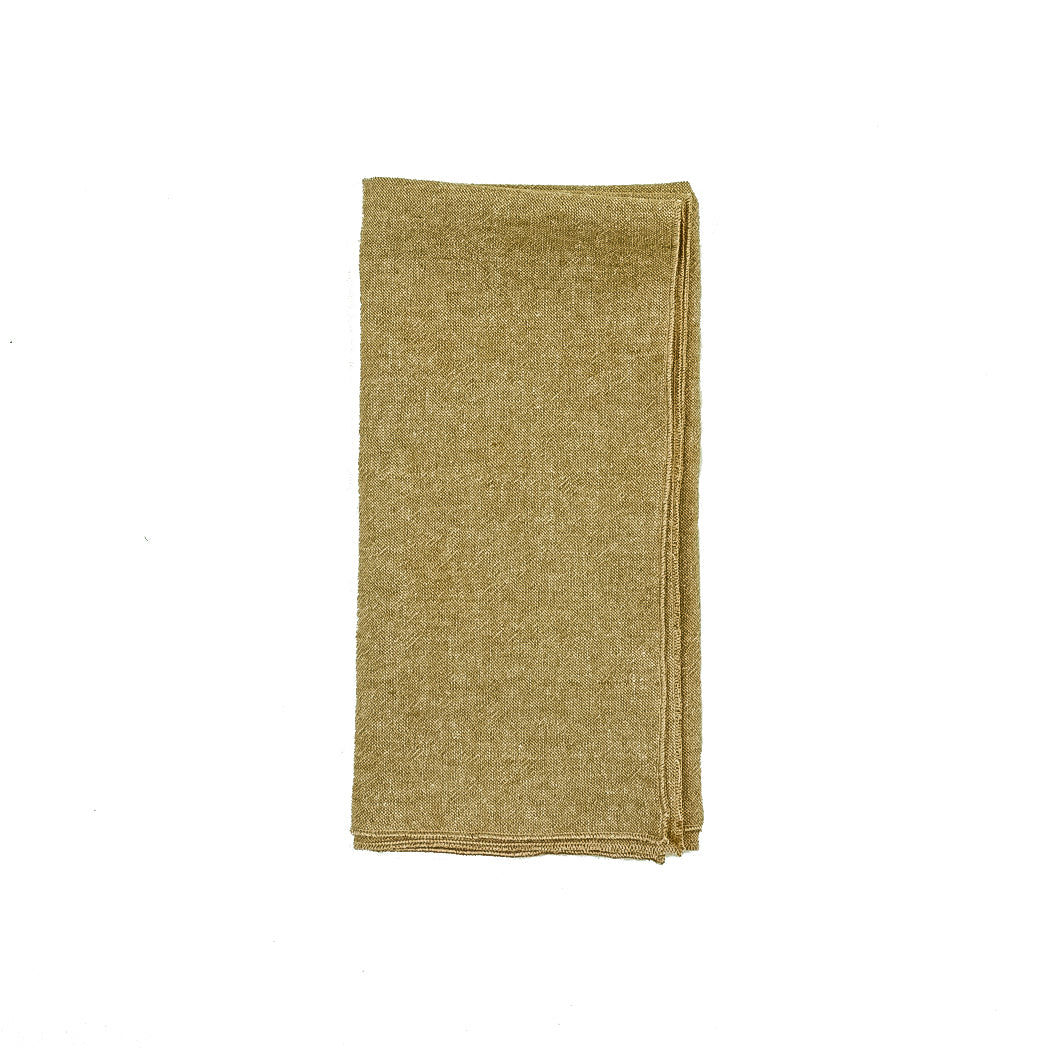 Honey Linen Dinner Napkins